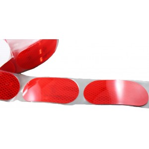 3M Diamond Grade 983-72S  Segmented Retroreflective Red For Cistern - Roll 50mm x 50m