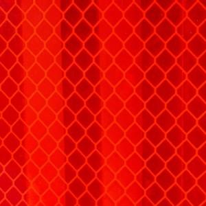 3M™ Diamond Grade™ 983-72S Lámina Retrorreflectante Microprismática Segmentada Clase C marcado ECE104 DG³ Rojo para cisterna