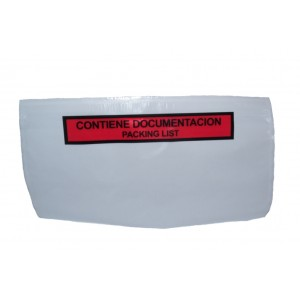 Envelopes Portadocumentos, Modelo F4, 175mm X 150mm, Cor Vermelho, Com Legenda