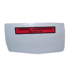 Packing List, Modèle F4, 175mm x 150mm, Rouge, Avec Légende