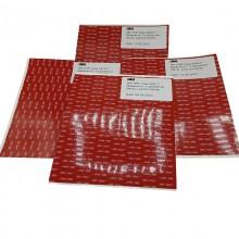 3M™ VHB™ Ruban D'étanchéité en Mousse Acrylique 5952F, Feuilles de 210 mm x 295 mm x 1.1 mm