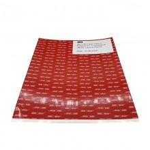 3M™ VHB™ Ruban D'étanchéité en Mousse Acrylique  5962F, Feuilles de 210 mm x 295 mm x 1.6 mm