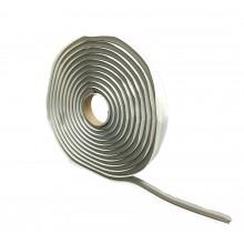 Cordão De Butil Cinza - Rolo De 4,5m x 9mm