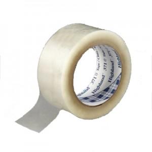 3M™ Scotch® Fita de Embalagem 371, PP, Transparente – Rolo de 132m x 50mm